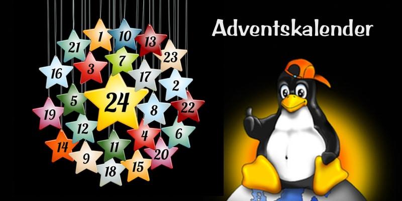 Adventskalender – viele tolle Geschenke haben wir versteckt