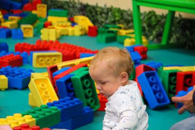 Riesen Legosteine im Erlebnispark Gevelsberg