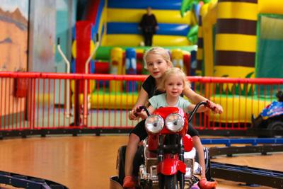 Kinderfahrzeuge im Erlebnispark Gevelsberg