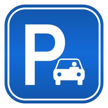 Parkplatz Zeichen