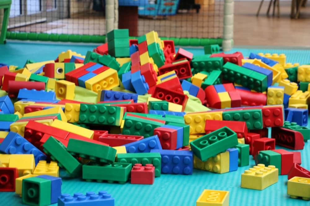 Bausteine im Babybereich des Erlebnisparks Gevelsberg